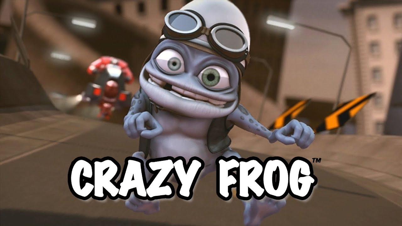 Crazy Frog Popcorn Official Video Youtube