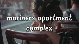 Lana Del Rey - Mariners Apartment Complex (Lyrics)