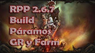 Diablo 3 RPP 2.6.7 Speed farm T16/contratos y Push GR Bárbaro Páramos