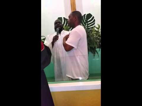 Baptism at the Christian Hope Baptist Church
