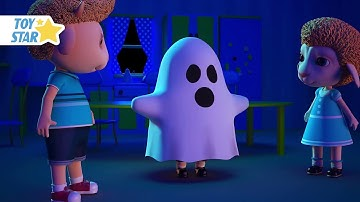 New 3D Cartoon For Kid ¦ Dolly And Friends ¦ Knock Knock, Trick Or Treat, Scared Baby Halloween #137