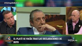 Pedrerol abandona el PLATÓ EN DIRECTO tras estas declaraciones de Paco Buyo