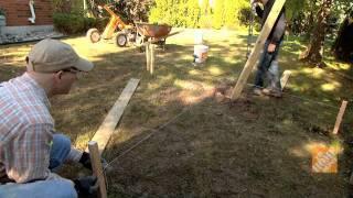 Cómo colocar postes de cerca