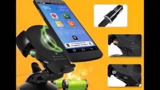 Автомобильный держатель с беспроводной зарядкой Onetto Charging  Mount Easy Flex Wireless(, 2016-08-24T18:49:41.000Z)