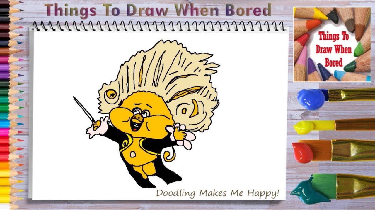 How To Draw Trolls World Tour How To Draw Trollzart Youtube