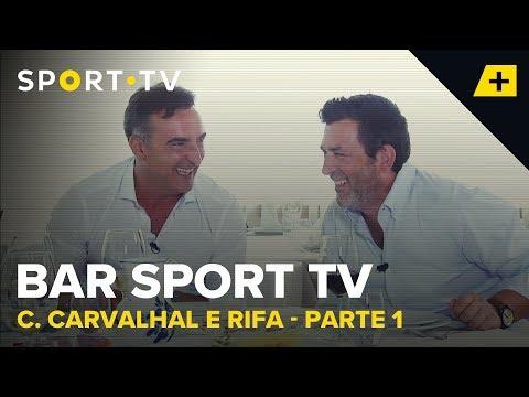 BAR SPORT TV com Carlos Carvalhal e Rifa - Parte 1