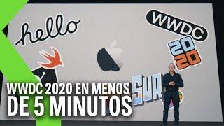 A12Z, iOS 14 y macOS Big Sur | RESUMEN Keynote WWDC 2020 de Apple en menos de 5 minutos