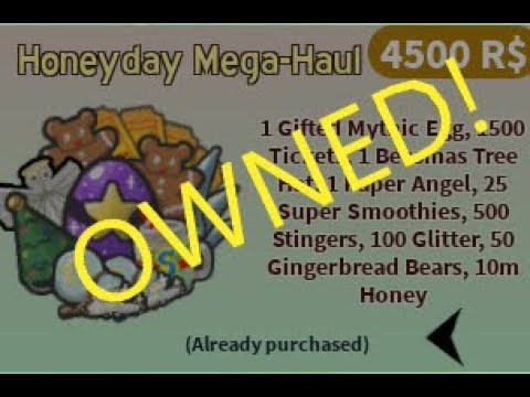42nd Hive Slot and Buying MEGA PACK!!! (-4500 Robux) |
