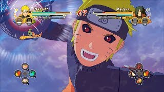 Naruto Ultimate Ninja Storm 3 Full Burst MODS - Naruto Ultimate Ninja Storm 3 Full Burst Dark KCM Naruto Mod Gameplay (PC w SweetFX