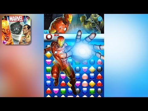 MARVEL Puzzle Quest - Gameplay Trailer (iOS, Android)