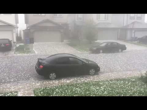 Thumbnail: CRAZY GOLF BALL SIZED HAIL STORM