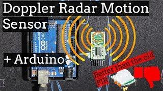 Arduino Doppler Radar Motion S…