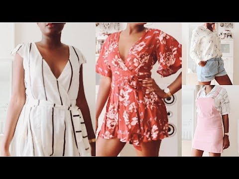 HUGE ROMWE CLOTHING TRY-ON HAUL | Summer 2017