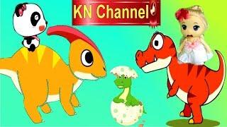 Trò chơi KN Channel BÚP BÊ LẠC VÀO THỜI TIỀN SỬ KHỦNG LONG  tập 1 | TREX