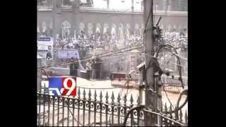 Old City tense as MIM activists pelt stones full video hd
