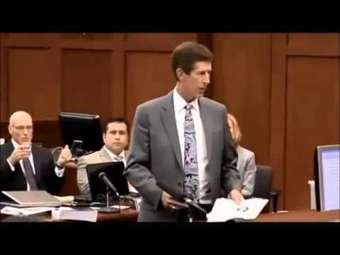Trayvon Martin : George Zimmerman : Trial Testimony Day 2 Part 5 oF 5