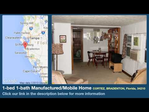 1-bed 1-bath Manufactured/mobile Home For Sale In