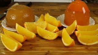 Желе в дольках + морковное + яблочное
