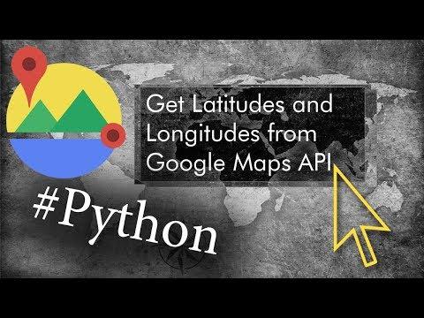 Get gps from address google maps