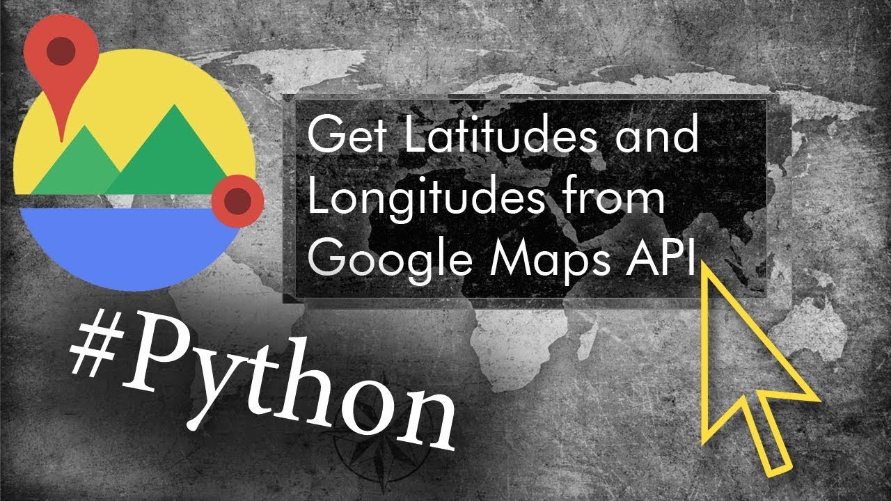 Get Geographical Coordinates from Google Maps API for any Address  Real  Python example