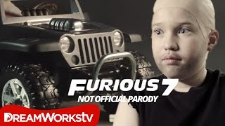 Furious 7 parody: a little fast a little furious | trailer parody