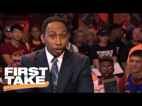 Stephen A. Smith Responds to Kevin Durant's Mother, Wanda Durant | First Take | June 7, 2017