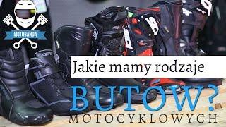 Jakie Mamy Rodzaje Butow Motocyklowych Jakie Buty Wybrac Do Motocykla Porady Motobanda Youtube