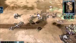 GDI vs Brutal Scrin Skirmish | Pipeline Problems | Command & Conquer 3: Tiberium Wars Gameplay