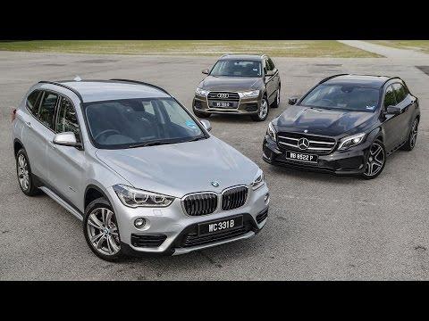 DRIVEN 2015 #6: F48 BMW X1 vs Mercedes-Benz GLA vs Audi Q3