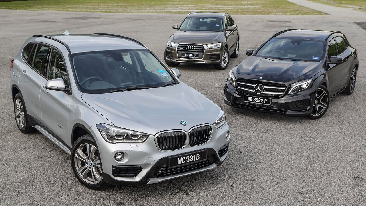 DRIVEN 2015 #6: F48 BMW X1 vs Mercedes-Benz GLA vs Audi Q3 - YouTube