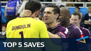 Top 5 Saves | Round 8 | VELUX EHF Champions League 2017/18