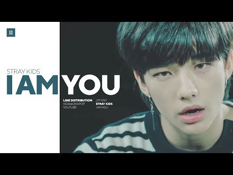 Stray Kids - I am YOU Line Distribution (Color Coded) | 스트레이 키즈 - 아이엠유