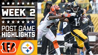 Bengals vs. Steelers | NFL Week 2 Game Highlights