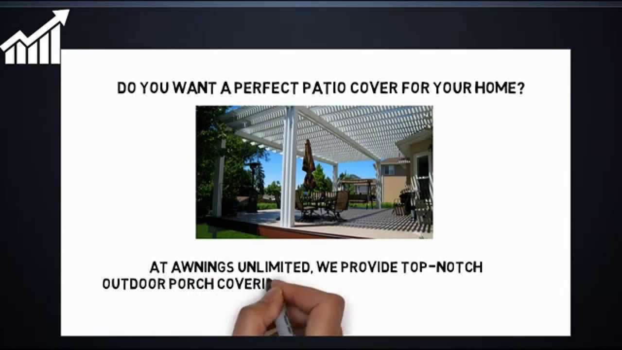 Covered Patios Salt Lake City Awnings Unlimited