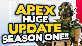 Apex Legends 6 HUGE Season 1 UPDATES | New Legend, Battle Pass & MORE!