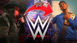 We recreated WWE PROMOS? **CRINGE** (WWE 2K19 Online Universe - SummerSlam)