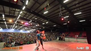 Juggling martial arts final