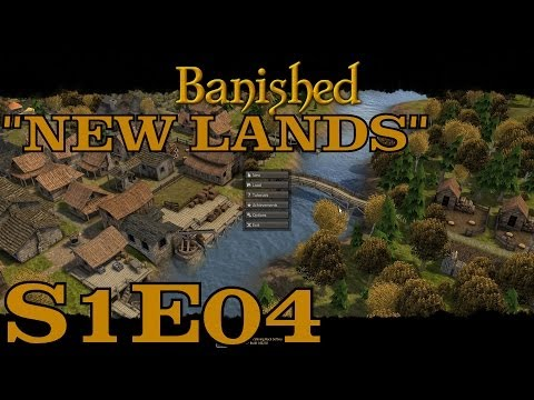 Banished Let's Play (S-1) -E04- New Lands [City Building Survival Gameplay Tips Tutorial]