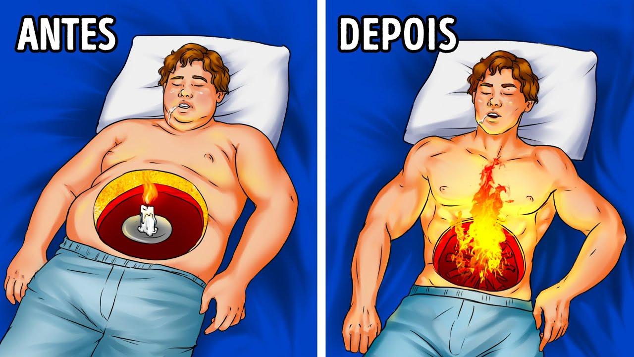 Maneiras de Queimar Mais Gordura Durante o Sono