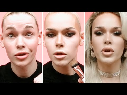 Blair St. Clair's Drag Transformation Tutorial In 180° | Allure