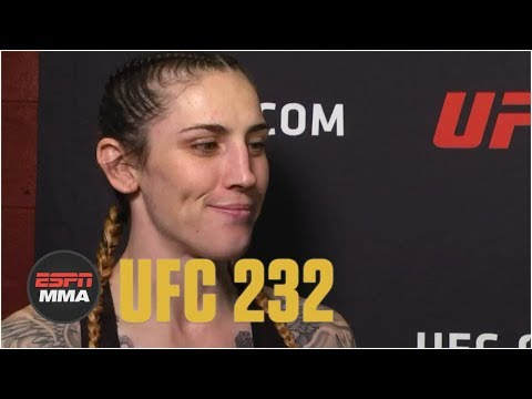 Megan Anderson happy to fight Cat Zingano again, calls for more featherweights | UFC 232 | ESPN MMA