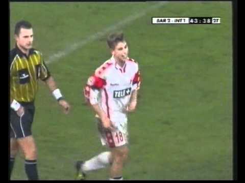 Antonio Cassano - Bari-Inter 2-1