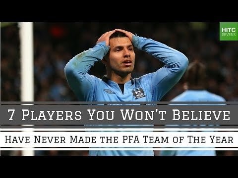 7 Players Who've Incredibly Never Made the PFA Team of the Year | HITC Sevens