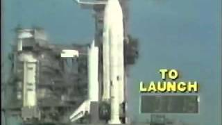 Space Shuttle Columbia STS-1 Launch