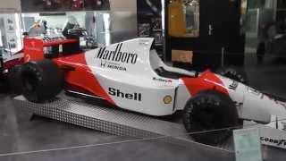McLaren Honda MP 4/5 - Formula One car from 1989