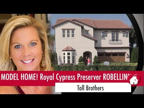 New Homes Winter Garden Dr. Phillips Florida Model Home at Royal Cypress Preserve!