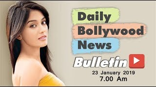 Latest Hindi Entertainment News From Bollywood | Amrita Rao | 23 January 2019 | 07:00 AM