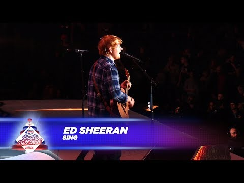 Ed Sheeran - 'Sing' - (Live At Capital's Jingle Bell Ball 2017)