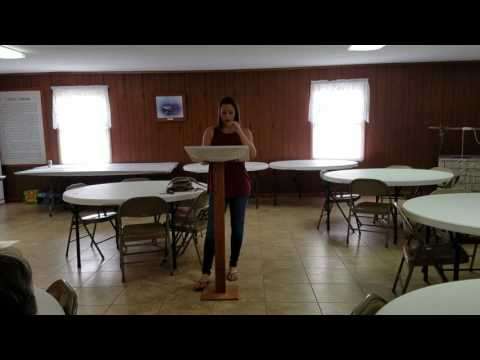 Persuasive speech Shawnee Community college