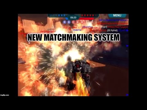 New matchmaking war robots